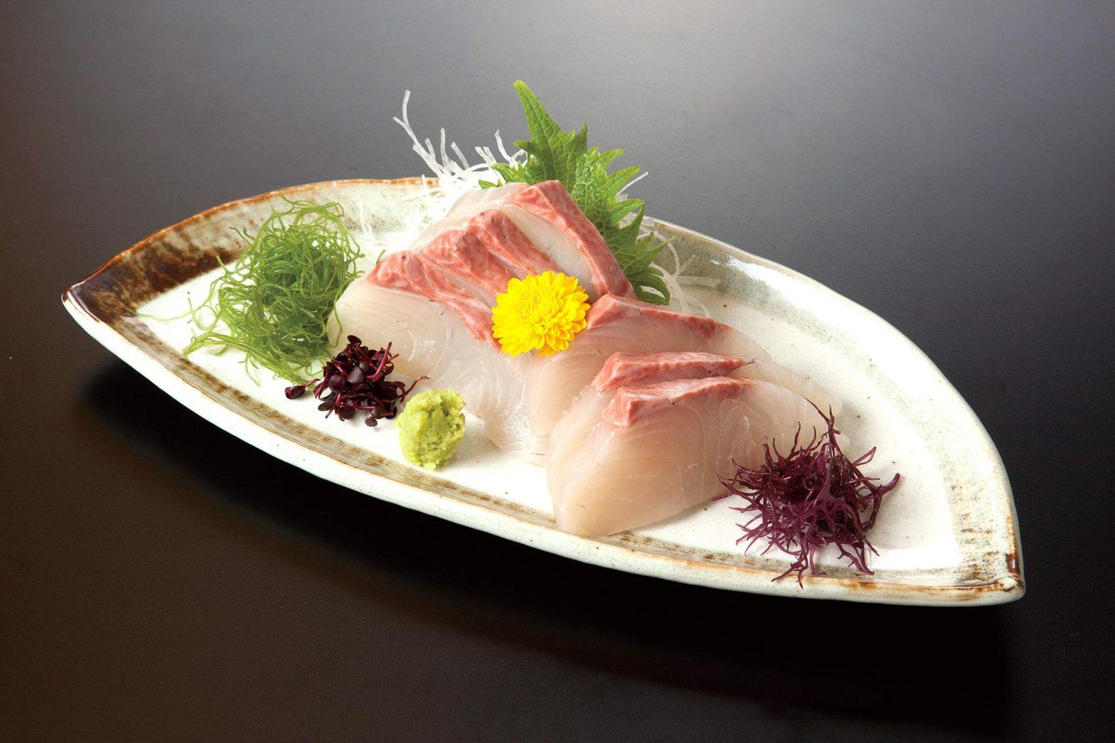 白身魚刺身