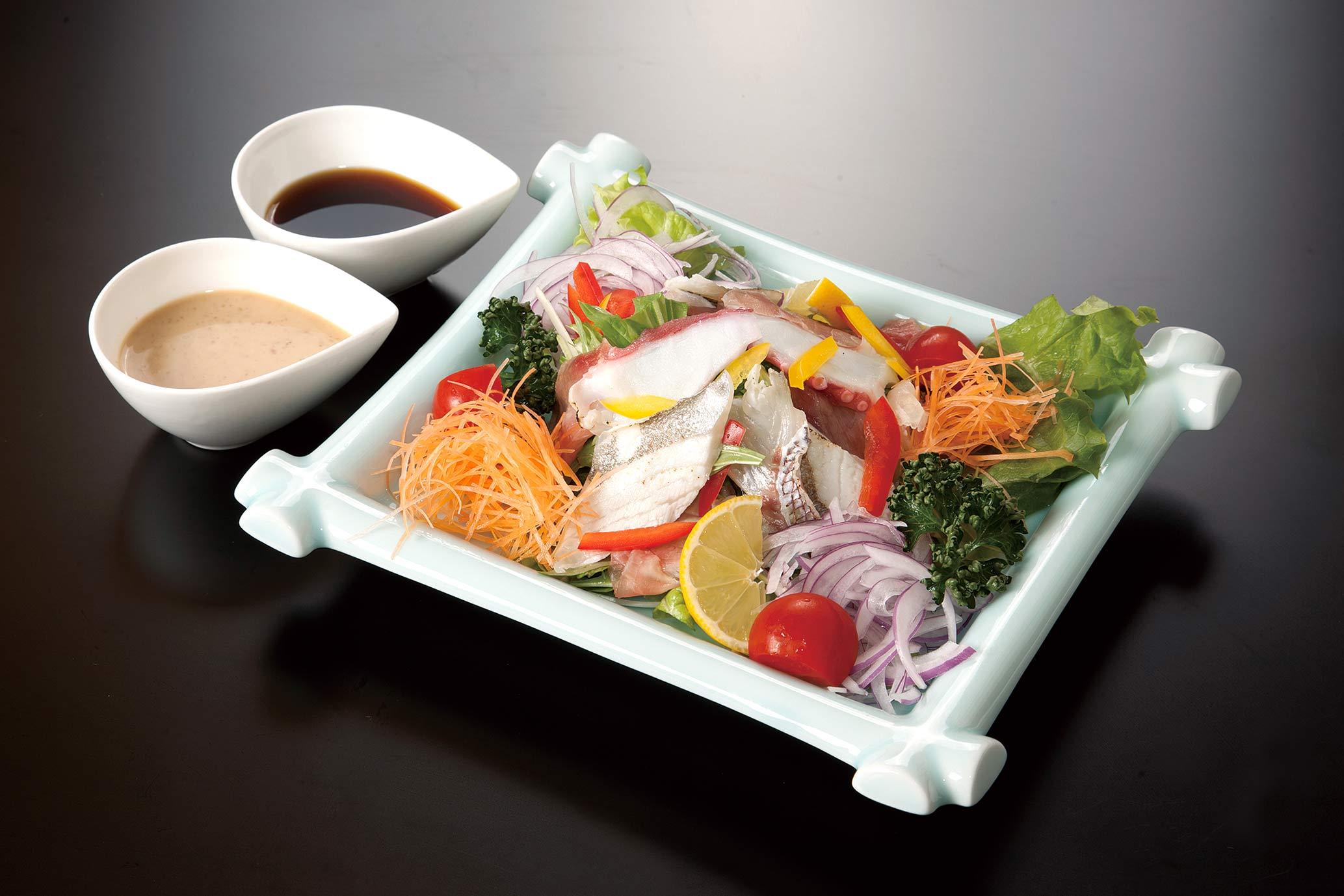 ゆ葉サラダ